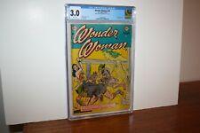 Wonder Woman #59 1953 DC Golden Age Last Original Logo CGC 3.0
