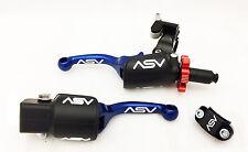 ASV F3 Shorty Blue Holiday Pro Pack Adjustable Clutch Brake Lever Hot Start RMZ