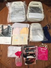 New & Used MARY KAY LOT CLEAR VINYL PRODUCT BAGS CONSULTANT GIFT TOTE TRAVEL