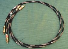 EXECUTIVE CARBON CRYSTAL COPPER INTERCONNECT CABLE 1,0METER PAIR RCA/RCA