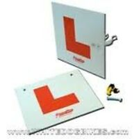 Motorcycle L-Plates Rigid Front & Rear Kit