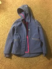 Ivivva Girls Rain Jacket/ Coat Size 6 EUC