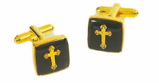 Masonic Cross  Cufflinks Cuff Links in Gift Box