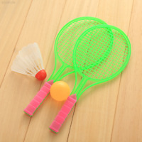 7A0F Badminton Table Tennis Set Outdoor Sports Family Game Boys Toy Rackets