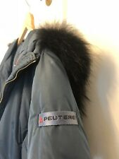 Peuterey Down Jacket With Real Fur Hood