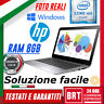 "PC NOTEBOOK PORTATILE HP FOLIO 1020 12"" CPU INTEL M-5Y71 M5 RAM 8GB +KEY WIN 10!"