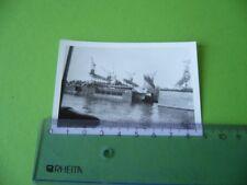 Foto STETTINER ODERWERKE DOCK D, Vintage Photo Stettin Werft Oder Schiffbau