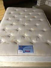 DOUBLE BED Divan and Mattress 4ft 6in wide
