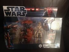 Star Wars Stap Y Battle Droid Hasbro Nuevo Gratis UK FRANQUEO