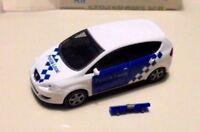 """car 1/87 RIETZE 51331 SEAT ALTEA """"POLICIA LOCAL"""" 2004 WHITE/BLUE NEW BOX"""