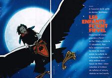 Coupure de presse clipping 084  1991 FIEVEL AU FAR WEST par SPIELBERG ( 6 pages)