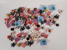 100 pcs Jibbitz CROC Shoe Charms & Jibbitz Bands Bracelet Gifts 1