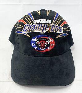 VTG Starter NBA Chicago Bulls Championship Locker Room Hat 1998 Authentic