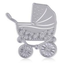Baby Carriage Stroller Cutting Stencil Fit For Embossing Craft Album Paper Card