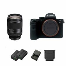 Sony a7R II / A7R2 42MP Full-Frame DSLR + FE 24-240mm f/3.5-6.3 OSS Lens