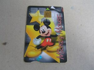 SOUTH AFRICA  used chip card   Mickey Mouse