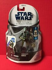 Star Wars The Legacy Collection Commander Gree