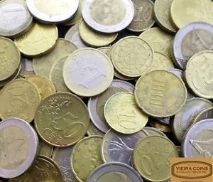 Euro Coins  90 Euros Face Value for Exchange or Spend, 2,1, 50C -  #EURONQB