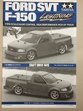 Tamiya SVT F-150 TL01 Chassis Manual 1055828