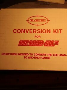 Lee Load-All 2 12 GAUGE CONVERTION KIT  NEW IN BOX