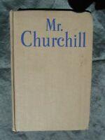 Mr Churchill  Philip Guedalla Hardback  June 1945 printing  Winston Churchill