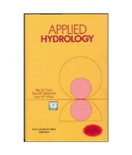 Applied Hydrology 1st Edition by Chow Paperback