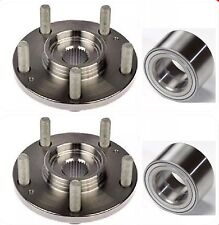 FRONT WHEEL HUB BEARING FOR 2005-2011 MAZDA 3 PAIR NEW FAST SHIP LOWER PRICE