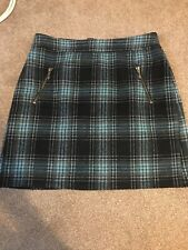George Check Skirt Size 10