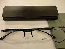 Oliver Peoples Damion BK Rx Eyewear 53-17-140 Glossy Black Frame, New!