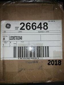 """GE Lighting - LED9ET8/2/840 Linear LED Bulb, T8, 24"""" L,G13,4000K Case Of 25"""