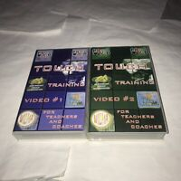 Touch Training Video Volume 1 And 2 Rare VHS Tapes