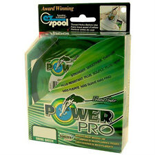 NEW POWER PRO SPECTRA BRAID MOSS GREEN 50LB 500YDS