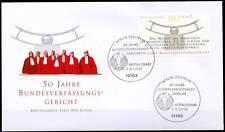 BRD 2001: Bundesverfassungsgericht! FDC der Nr. 2214 mit Berliner Stempeln! 1802