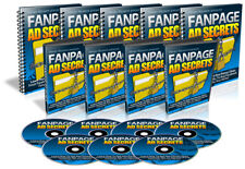 Fanpage Ad Secrets: 30 Page Guide & 10 Videos on CD
