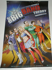 THE BIG BANG THEORY Board Game & POSTER & Tote Bag SDCC Promo Lot EXCLUSIVES