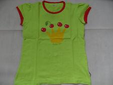 JAKO-O Taddicken schönes Shirt gelbgrün m. Krone+Kirschen Gr. 152/158 TOP ST818