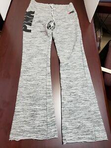 Victoria's Secret PINK Size S/P Gray Athletic Yoga Pants Activewear