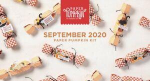 Hello Pumpkin September 2020 Paper Pumpkin Full Kit - See Description