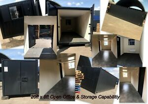 20ft x 8ft Anti-Vandal Office/Store - Nationwide Delivery - Ex Salford
