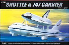 Academy 1/288 SPACE SHUTTLE&JUMBO 747 CARRIER Plastic Model Kit Cartograf 12708