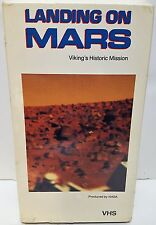 Landing On Mars VHS by Nasa New in Shrink Wrap