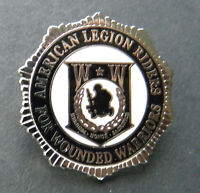 WOUNDED WARRIOR AMERICAN LEGION RIDERS LAPEL PIN BADGE 1 inch