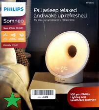 Philips SmartSleep Sleep & Wake-up Light Therapy Lamp - HF3650/60 New In Box