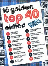 TOP 40 16 golden oldies HOLLAND EX LP david bowie THE KINKS lou reed E.A. EX LP