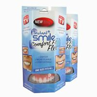 Instant Smile Flex 2 Pack - Upper Cosmetic Veneers for a Perfect Smile!