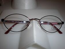 NEW CHLOE WOMEN HIGH END DESIGNER EYE GLASS FRAMES PLASTIC ITALY