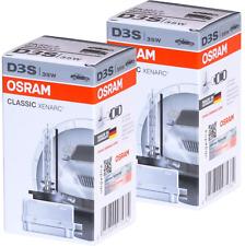 2 AMPOULE XENON OSRAM D3S XENARC 35W 66340