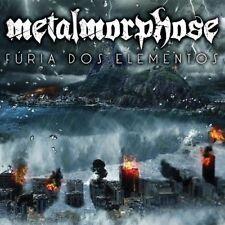 METALMORPHOSE: Furia Dos Elementos CD Heavy Power Metal Brazil Saxon Stress