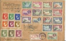 Netherlands Antilles Sc#C18-C32(complete set)#153-156,#158,#160-163-High