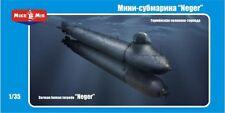 MICRO-MIR Model Kits 1/35 Scale German Neger Human Torpedo Kit New In Box 35001